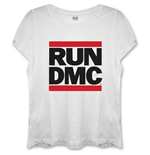 T-shirt Run DMC: Logo with Skinny Fitting