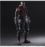Final Fantasy VII Remake Play Arts Kai figurine No. 2 Barret Wallace 30 cm