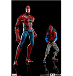 Spider-Man pack 2 figurines Peter Parker & Spider-Man Classic Edition 25 - 38 cm
