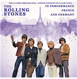 Vinyle Rolling Stones - In Performance France And Germany - The Classic Broadcasts - Clear Vinyl