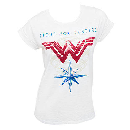 T-shirt Wonder Woman - Fight For Justice