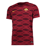 T-shirt Rome 2017-2018 (Rouge)