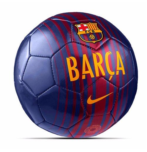 Ballon De Football Fc Barcelone Nike Skills 2017 2018 Rouge Bleu