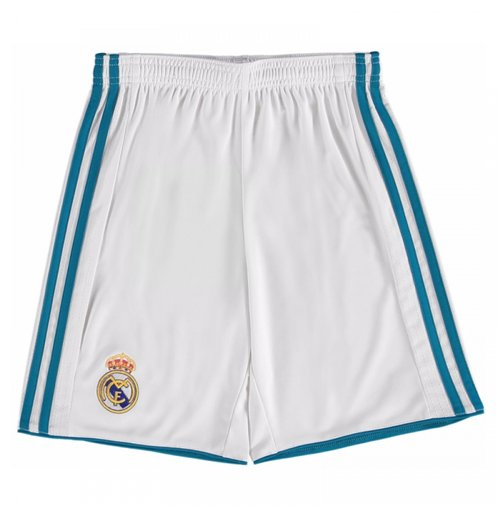 Short Real Madrid 2017-2018 Home (Blanc)