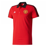 Polo Manchester United FC 2017-2018 (Rouge)