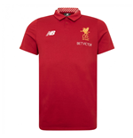 Polo Liverpool FC 2017-2018 (Rouge)