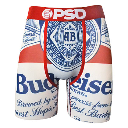Boxer Budweiser - Beer Label