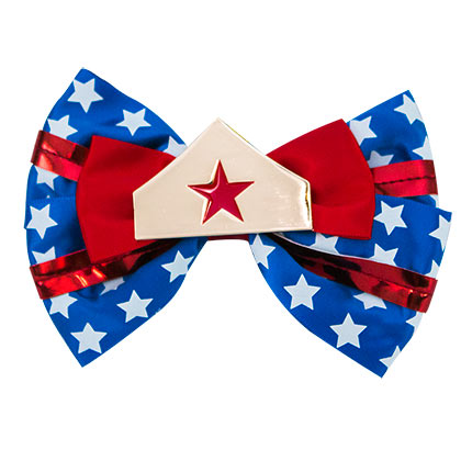 Barrette Nœud Papillon Wonder Woman
