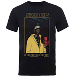 T-shirt Snoop Dogg  pour homme - Design: Microphone