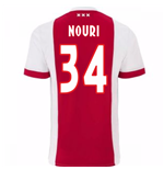 Maillot de Football Ajax Amsterdam Home 2017-2018 (Nouri 34)