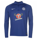 Sweat-shirt Chelsea 2017-2018 (bleue)