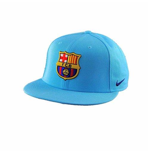 the latest 74fad c73e7 Casquette FC Barcelone Nike Core 2017-2018 (Bleu Ciel)