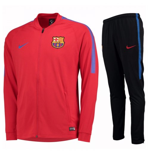Nike Survêtement Fc Squad Barcelone 2017 2018rougeEnfants 0wPkX8nO