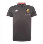 Polo Liverpool FC Media Motion 2017-2018 (Gris Thunder)