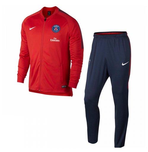 50% price lowest discount best value Survêtement Paris Saint-Germain Nike 2017-2018 (Rouge) - Enfant