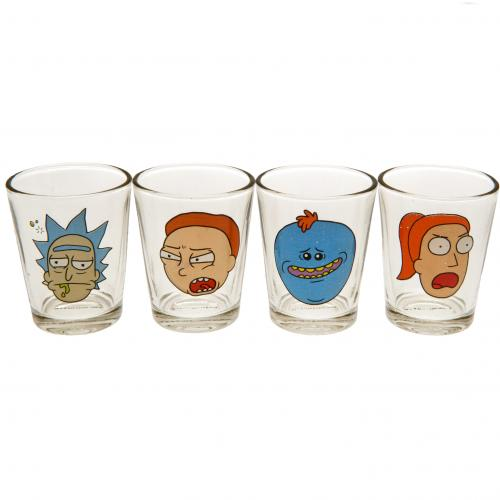 Verre à Shot Rick And Morty