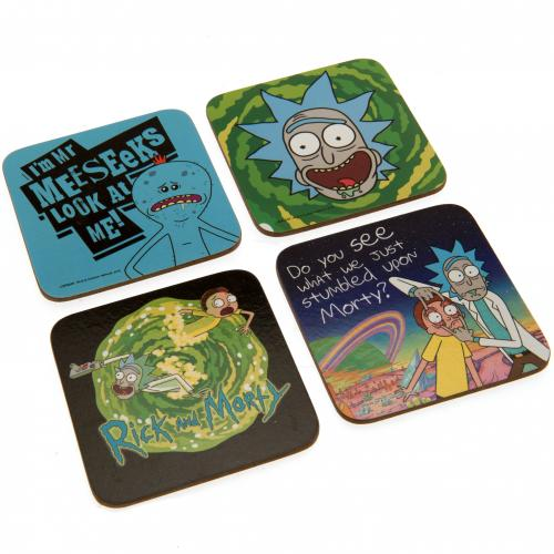 Sous-verres Rick and Morty