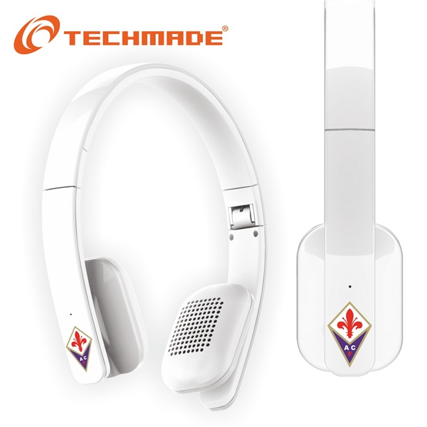 Casque Audio Bluetooth Techmade ACF Fiorentina