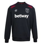Sweat-shirt West Ham United 2017-2018 (Noir)