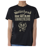 T-shirt Motorhead pour homme - Design: Deaf Not Blind