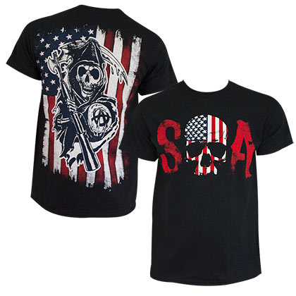 T-shirt Sons of Anarchy - Patriotic