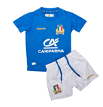 Tenue de Rugby Mini Kit Italie Macron Home 2017-2018