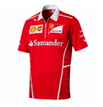 Polo Team Ferrari Puma 2017 (Rouge de Course)