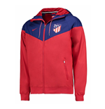 Veste Atletico Madrid 2017-2018 (Rouge)