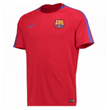 T-shirt FC Barcelone 2017-2018 (Rouge)