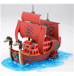 One Piece Grand Ship Collection figurine Plastic Model Kit Kuja Pirates Ship 15 cm