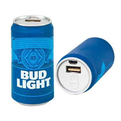 Batterie Externe Powerbank Bud Light