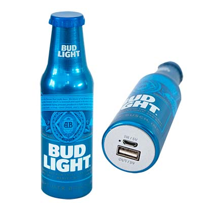 Batterie Externe Powerbank Bud Light - Bouteille