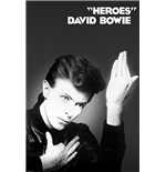 Poster David Bowie - Heroes