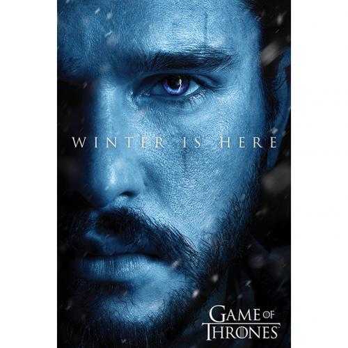 Poster Le Trône de fer (Game of Thrones) - Jon Snow