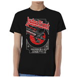T-shirt Judas Priest: Silver and Red Vengeance