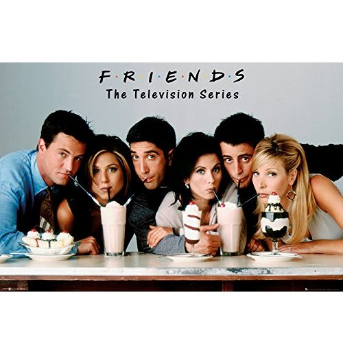 Poster Friends - Milkshake