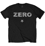 T-shirt The Smashing Pumpkins: Zero Distressed with Distressed Printing