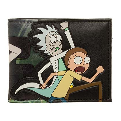 Portefeuille Double Volet Rick and Morty