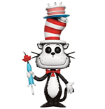 Dr. Seuss POP! Books Vinyl figurine Cat in the Hat with Cake & Umbrella 9 cm
