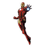 Marvel Comics Décoration vinyle repositionnable géante Iron Man