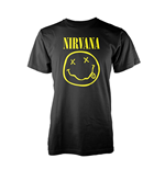 T-shirt Nirvana - Smiley Logo