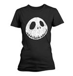 T-shirt Nightmare before Christmas - Cracked Face