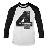 T-shirt Uncharted 4 - Distressed