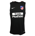 Maillot Fitness Atletico Madrid 2017-2018 (Noir)