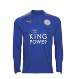 Maillot de Football Manches Longues Leicester City FC Puma Home 2017-2018