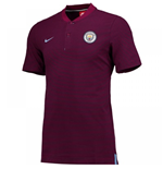 Polo Manchester City FC Nike Authentic Grand Slam 2017-2018 (True Berry)
