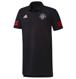 Polo Manchester United FC 2017-2018 (Noir)