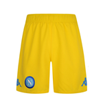 Short de Football SSC Naples Kappa Away 2017-2018 (Jaune)