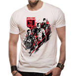 T-shirt Justice League Movie - Distortion