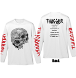 T-shirt Manches Longues Young Thug pour homme - Design: Thugger Skull